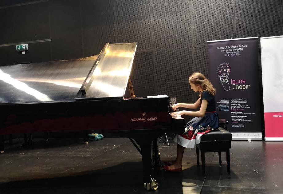 La jeune Monégasque a séduit les juges par « son toucher, sa sensibilité et sa musicalité ».