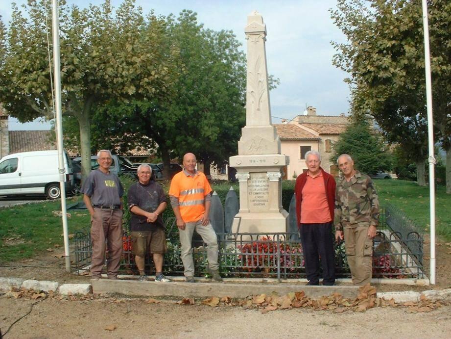 À la fin du mois, le monument aura retrouvé son aspect originel.