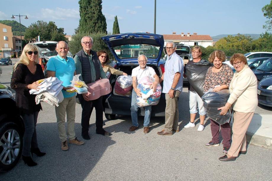 Après les anciens combattants, la commune et les associations humanitaires se sont conjointement mobilisées.