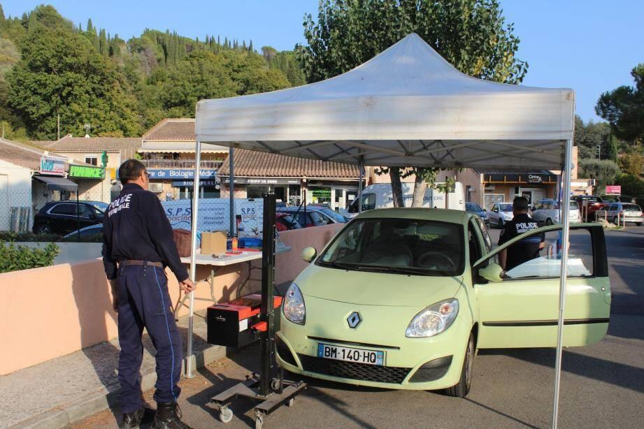 Au programme, diagnostic gratuit de la signalisation et de l'éclairage des véhicules.