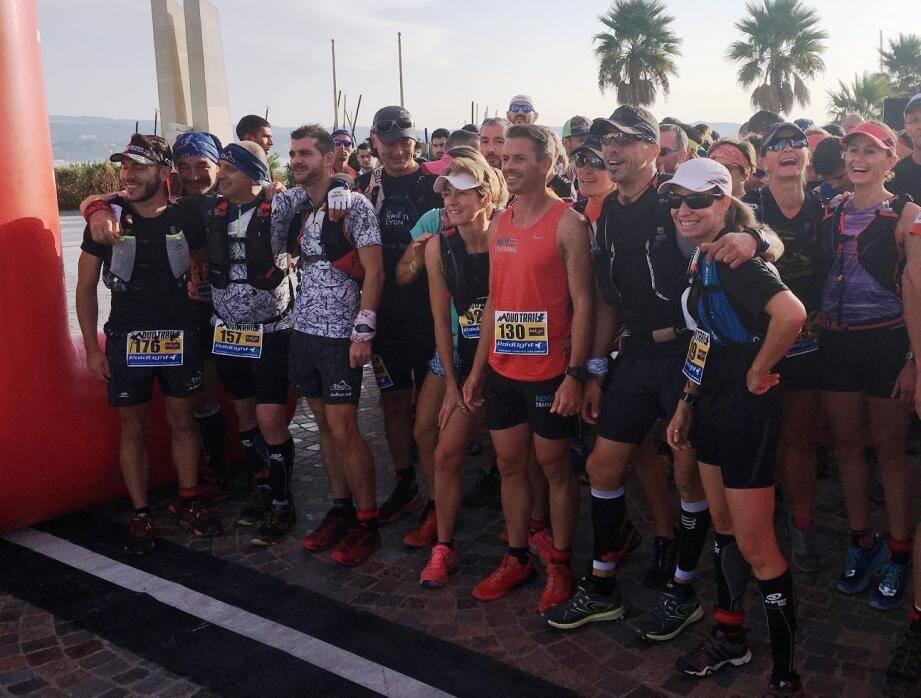 Près de deux cents coureurs ont participé à la toute première édition du Duo trail Raidlight.