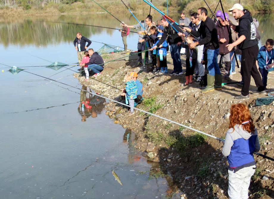 la pêche est bonne pour les enfants !