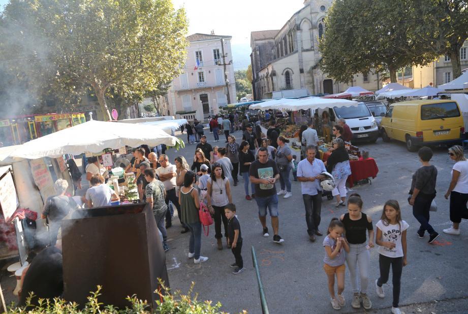 Les fêtes de la châtaigne ont, cette année encore, fait le plein de visiteurs.