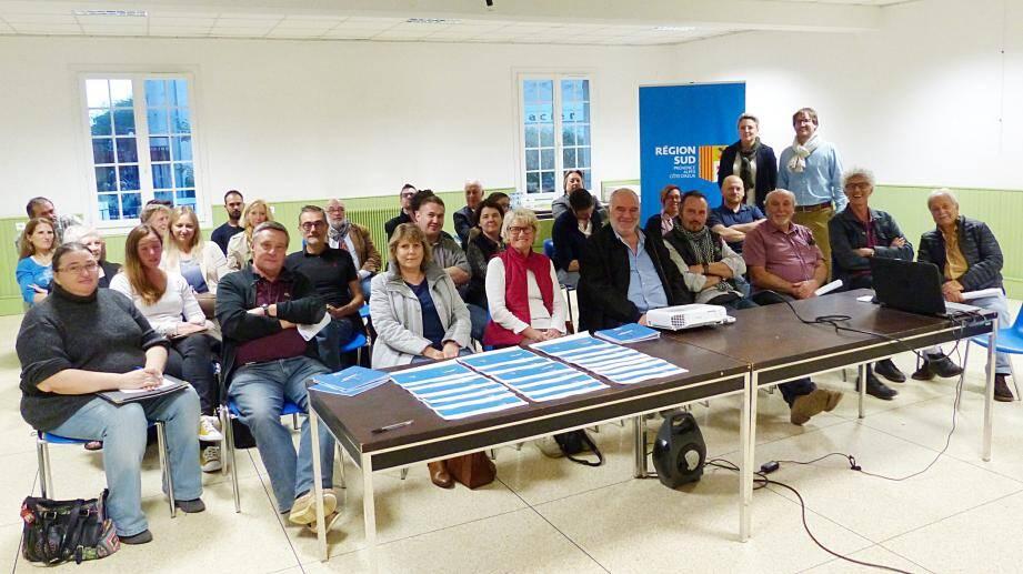 Vif succès de cette réunion, durant laquelle Nathalie Bernard a présenté de nouvelles « ouvertures » aux entrepreneurs présents.
