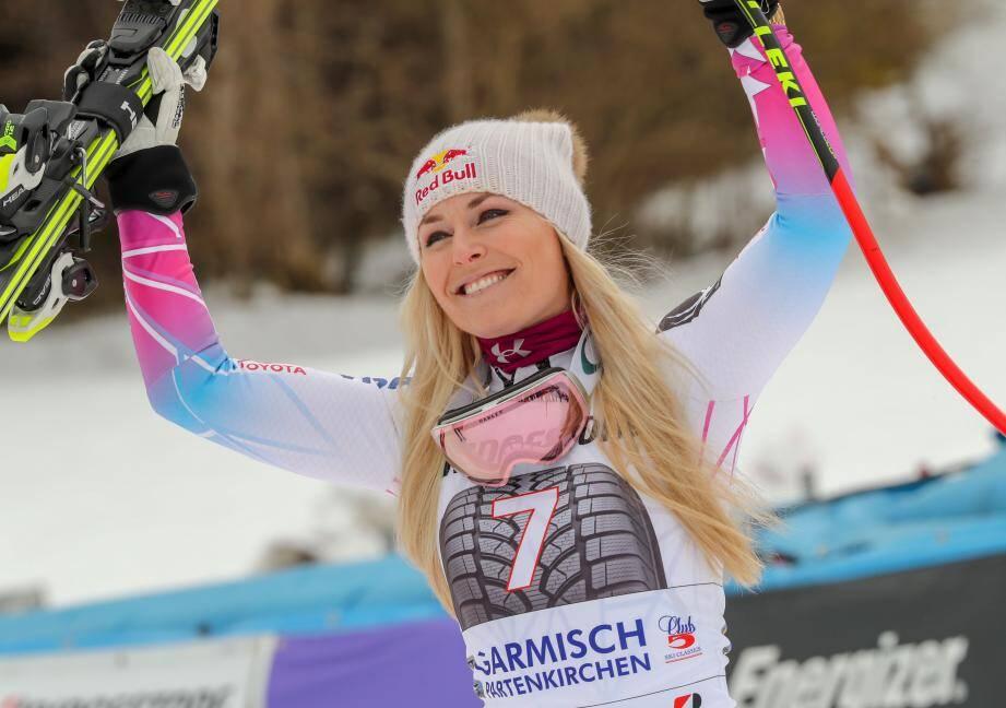 Lindsey Vonn, une dernière saison pour entrer un peu plus dans l'histoire du ski.