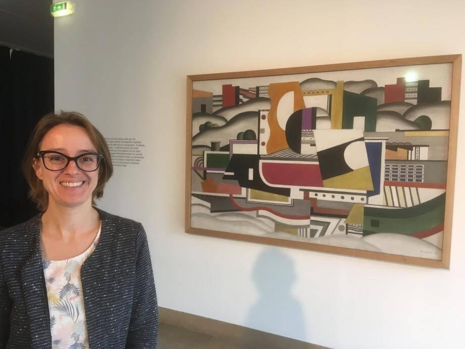 Julie Guttierez, conservatrice du musée Fernand-Léger : «Plus il y a de monde qui vient, plus je suis heureuse.»