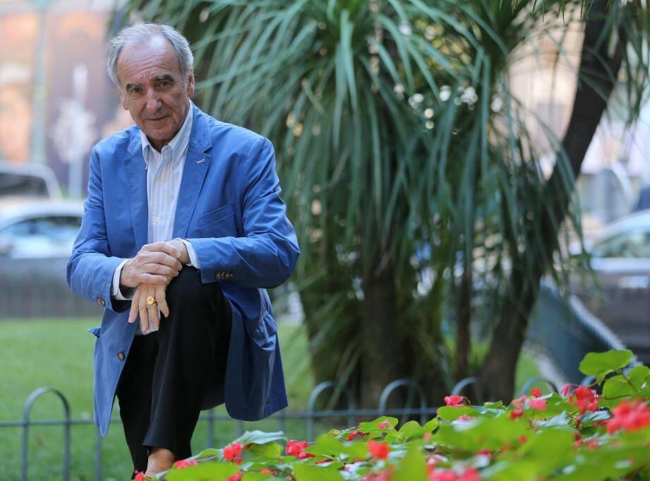 Patrick Mahé était présent à Monaco pour le Sportel, où il est membre du jury du prix du meilleur livre de sport.