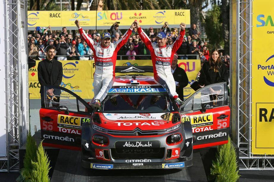 Vainqueur à 44 ans d'un rallye, l'Alsacien n'a pas détrôné le Suédois Björn Waldegard, plus vieux lauréat d'une course WRC à 46 ans depuis 1990.
