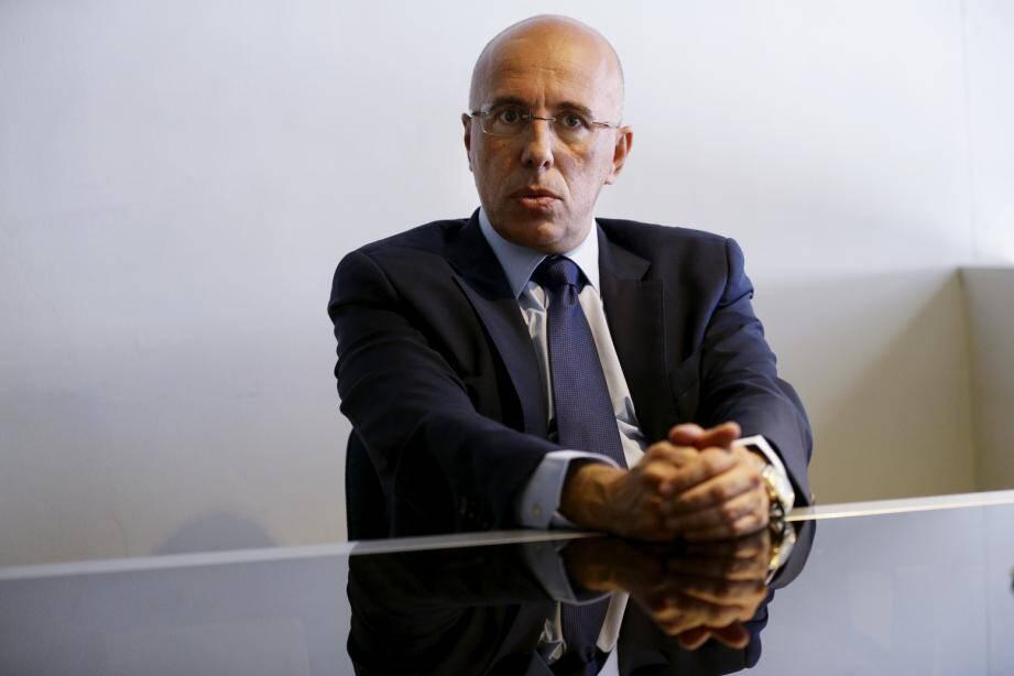 Éric Ciotti face à Pierre-Paul Léonelli.