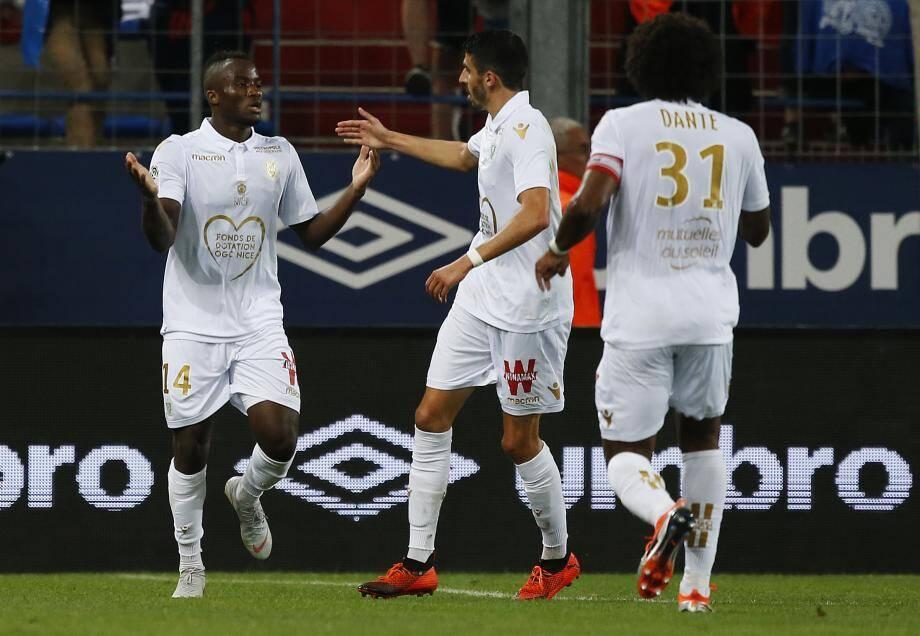 Le Camerounais de 19 ans avait égalisé à Caen, lors de la 2e journée de Ligue 1.