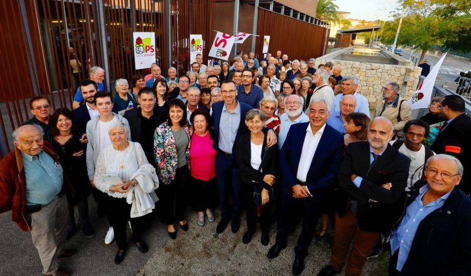 """""""Le PS doit être capable de se repenser de fond en comble"""" a déclaré le patron socialiste, Olivier Faure."""