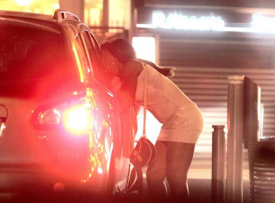 Des prostituées nigérianes à Nice.
