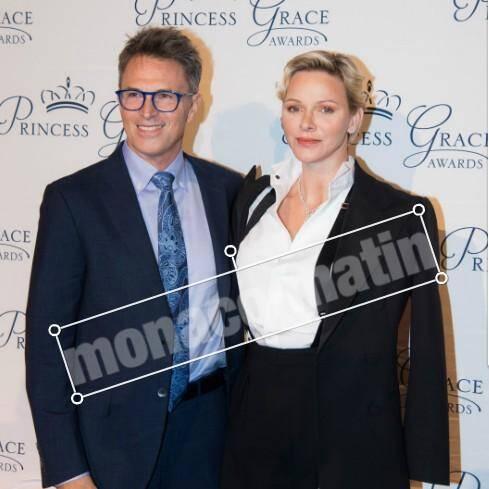 La princesse Charlène a remis le Prix Prince Rainier III à l'acteur américain Tim Daly.