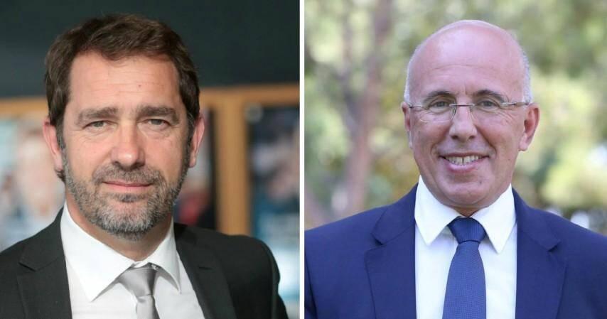 Christophe Castaner et Eric Ciotti.