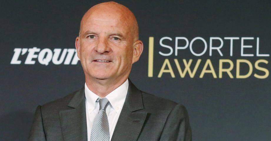 Guy Stéphan était présent aux Sportel Awards mardi soir lorsque Didier Deschamps a reçu le Prix de la Légende du Sport.