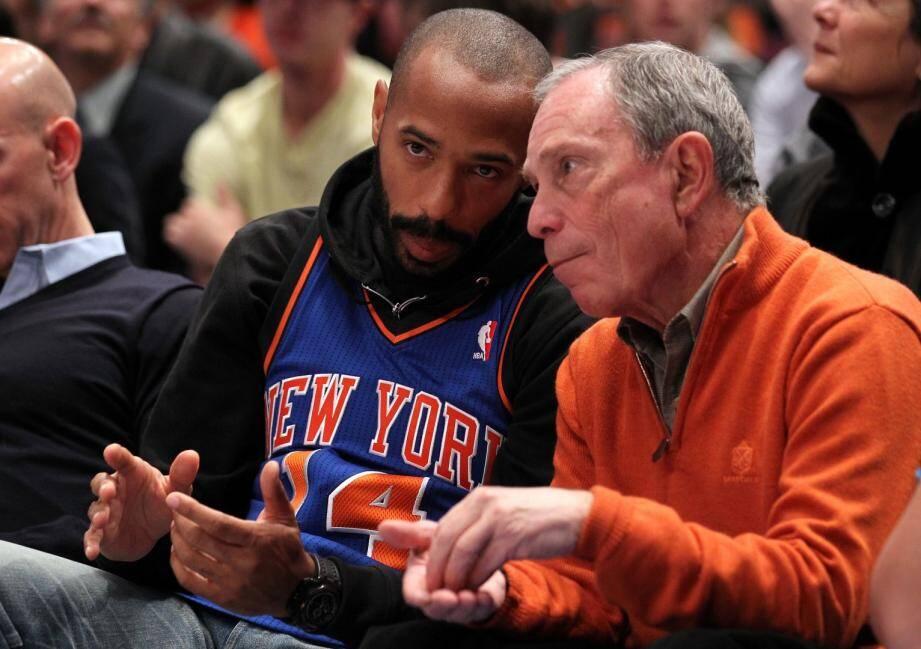 Avec Michael Bloomberg, maire de New York entre 2002 et 2013.