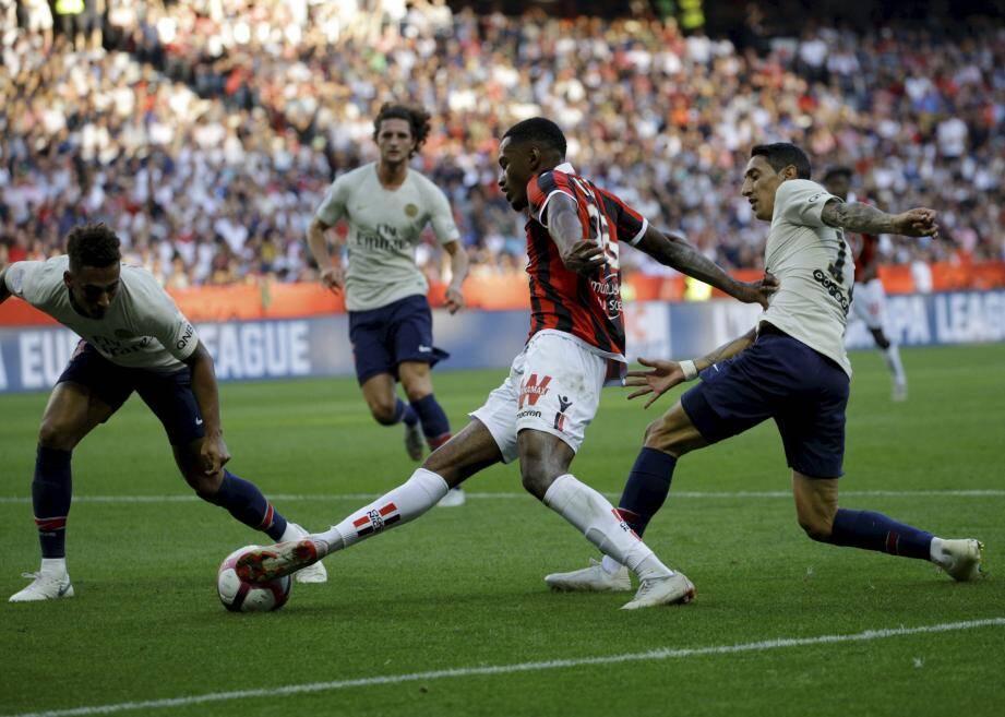Nice possède la troisième plus mauvaise attaque de Ligue 1
