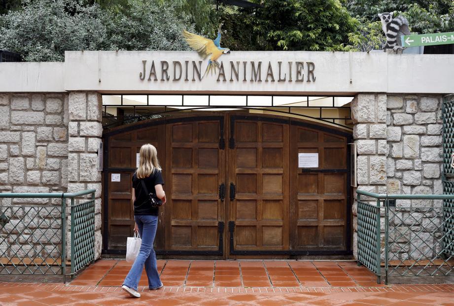 Fermées le 7août 2018, les portes du Jardin animalier resteront closes jusqu'au printemps prochain.