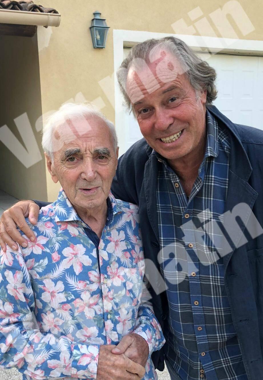 Chez lui à Mouriès, dimanche soir, l'artiste lui avait assuré qu'il chanterait jusqu'à 100 ans.