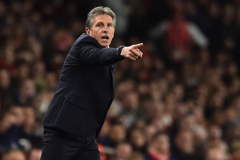 Claude Puel est l'entraîneur de Leicester.