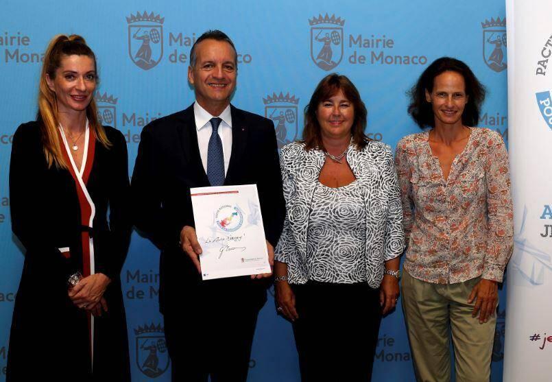 Le maire de Monaco a annoncé la pose de panneaux photovoltaïques sur le toit de la crèche de la Roseraie.