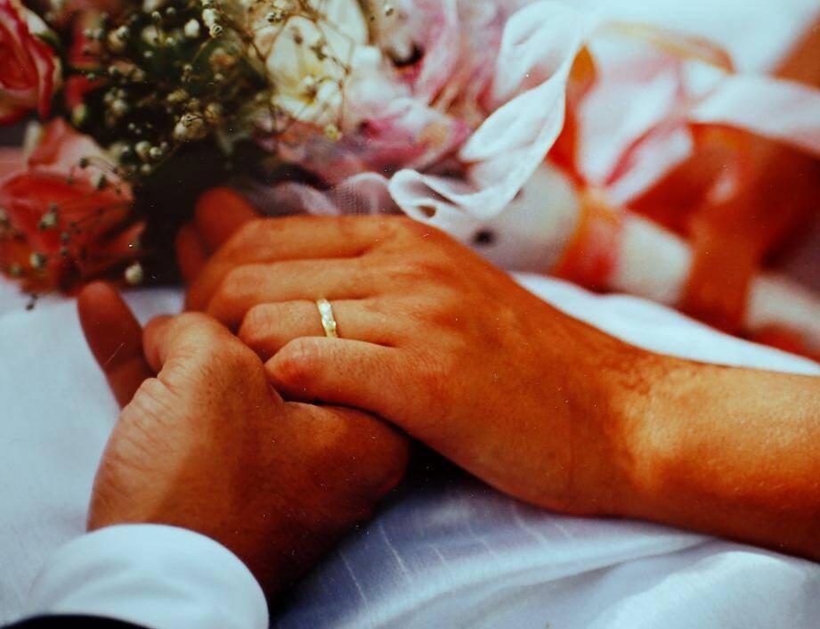 Toutes nos félicitations aux heureux mariés!