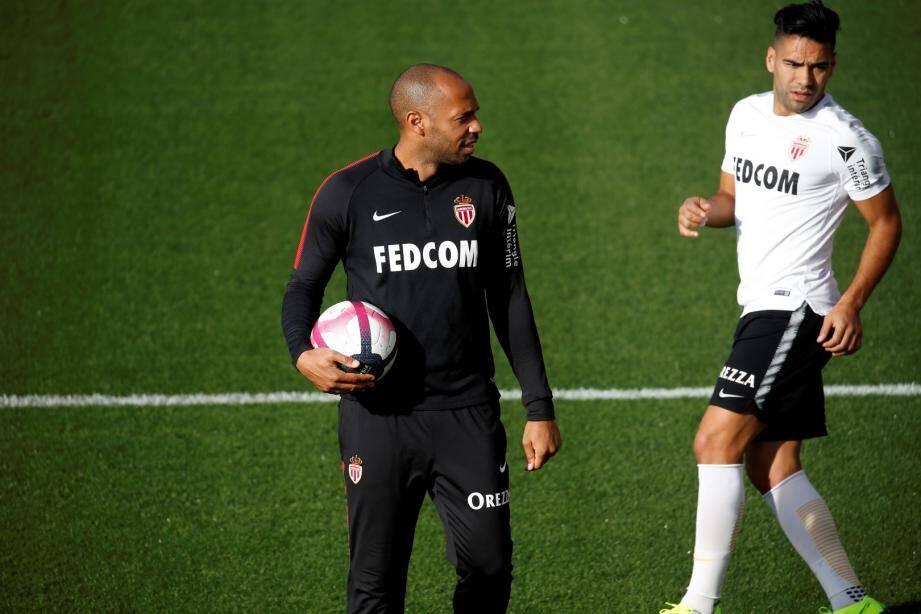 L'AS Monaco de Thierry Henry et Falcao est en grande difficulté en ce début de saison.
