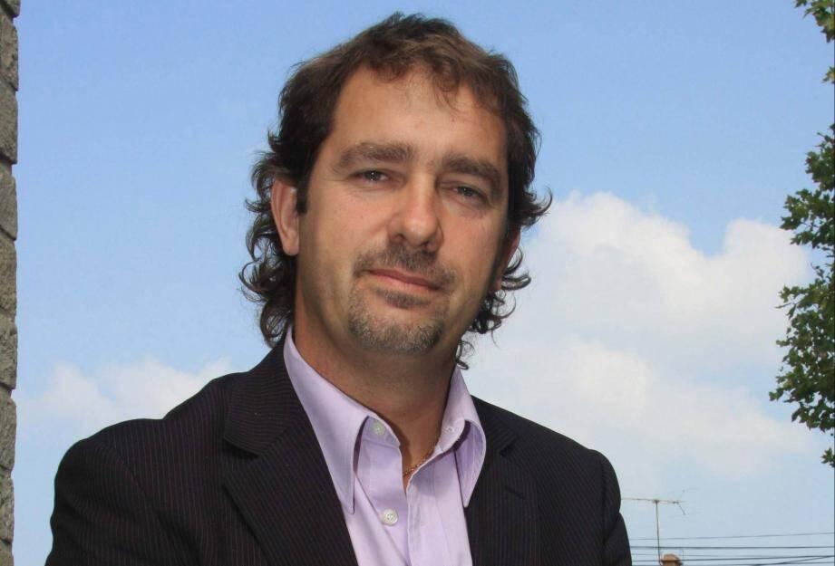 Christophe Castaner, maire de Forcalquier en 2009.
