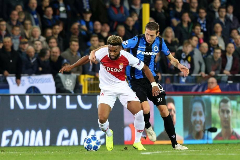 Moussa Sylla a réalisé un match plein avec l'AS Monaco.