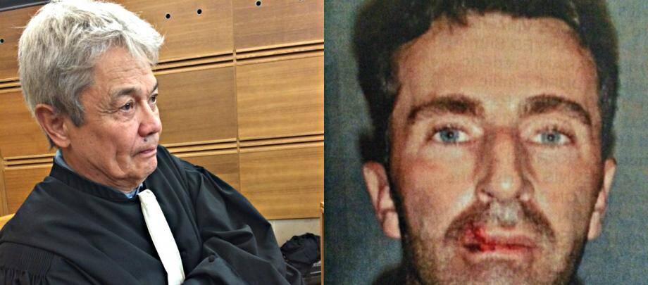 Me Jean-Robert Phung, avocat de Pascal Dauriac.Très discret depuis le début du procès, le coach sportif assume sa responsabilité dans le double assassinat.