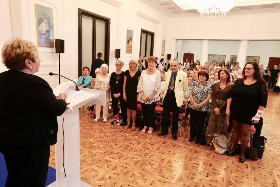 Lundi, Micheline Baus, adjointe aux seniors à la Ville de Nice a annoncé la liste des 22 candidats sélectionnés pour la finale du concours de chant.