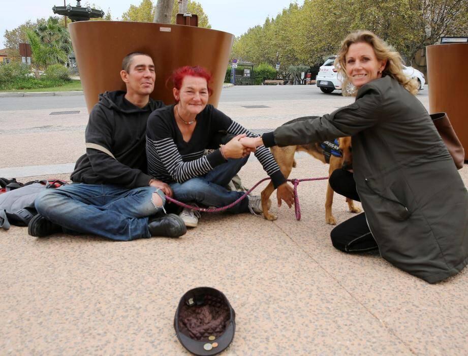 Touchée par la situation de Karin et Christopher, Nathalie Slon leur a tendu la main.