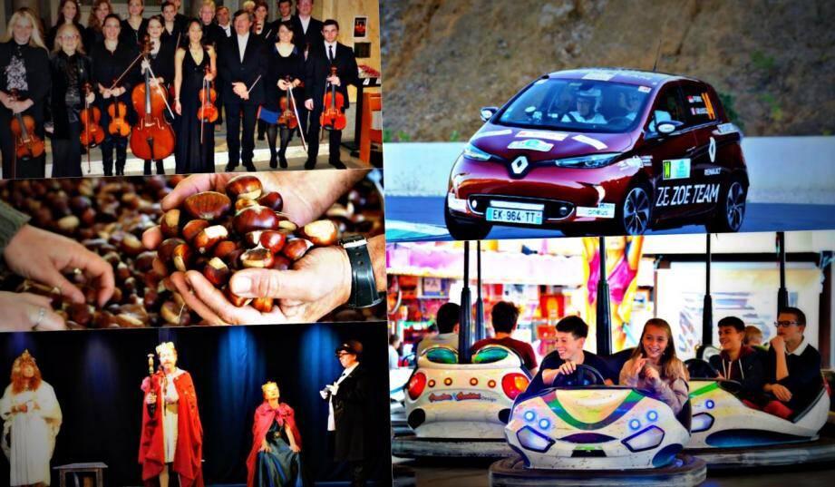 Concert de l'Arco Musica à Menton, 3e eRallye de Monte-Carlo, foire d'attractions à Monaco... Il y en aura pour tous les goûts ce week-end à Monaco et Menton