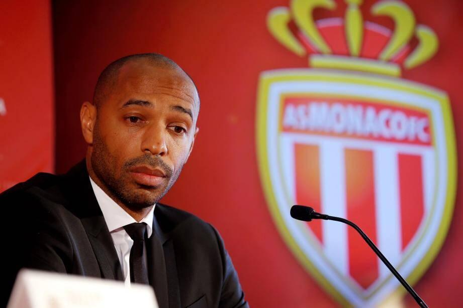 Thierry Henry a été présenté à la presse.