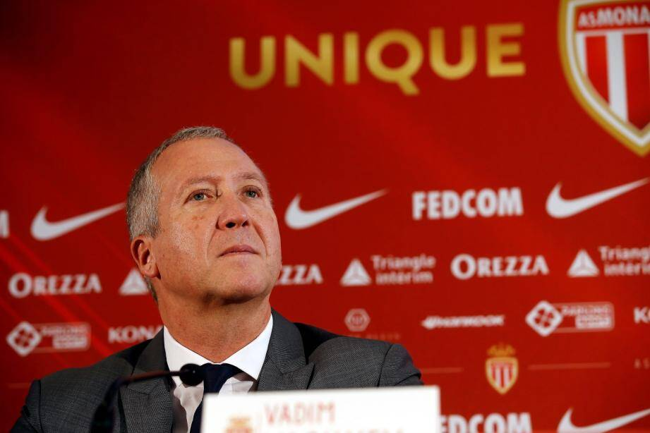 Vadim Vasilyev, vice-président de l'AS Monaco.