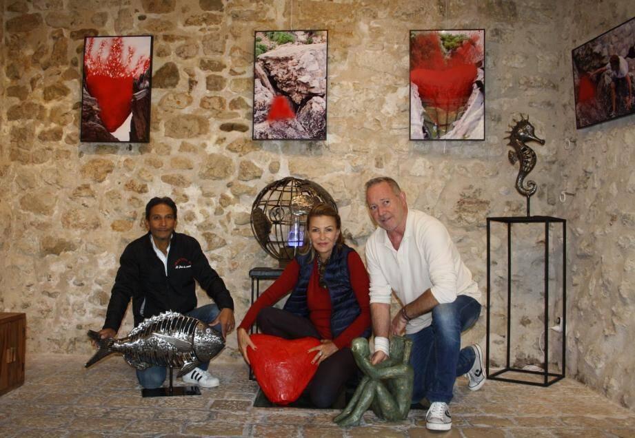 Un trio complémentaire, Jack Métal06, Joséphine Dionisotti et Jean-Bernard Zinck, l'exposition «les 3 J» va surprendre le visiteur.