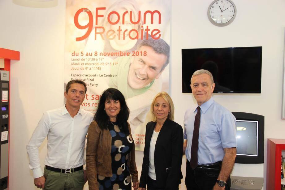 Le maire Gérard Spinelli et une équipe de professionnels pour bien préparer sa retraite.