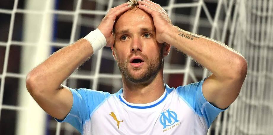 Valère Germain a connu des moments difficiles sous le maillot de l'OM.