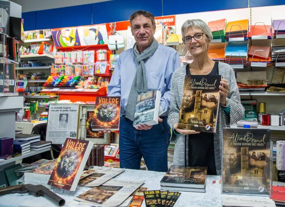 Les auteurs présentent deux ouvrages liés à la Grande guerre.