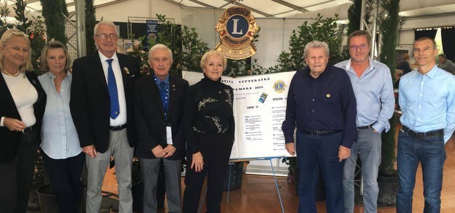 Les membres du Lions club Sainte-Maxime/Mer - Vallée du Préconil sont les organisateurs du festival.