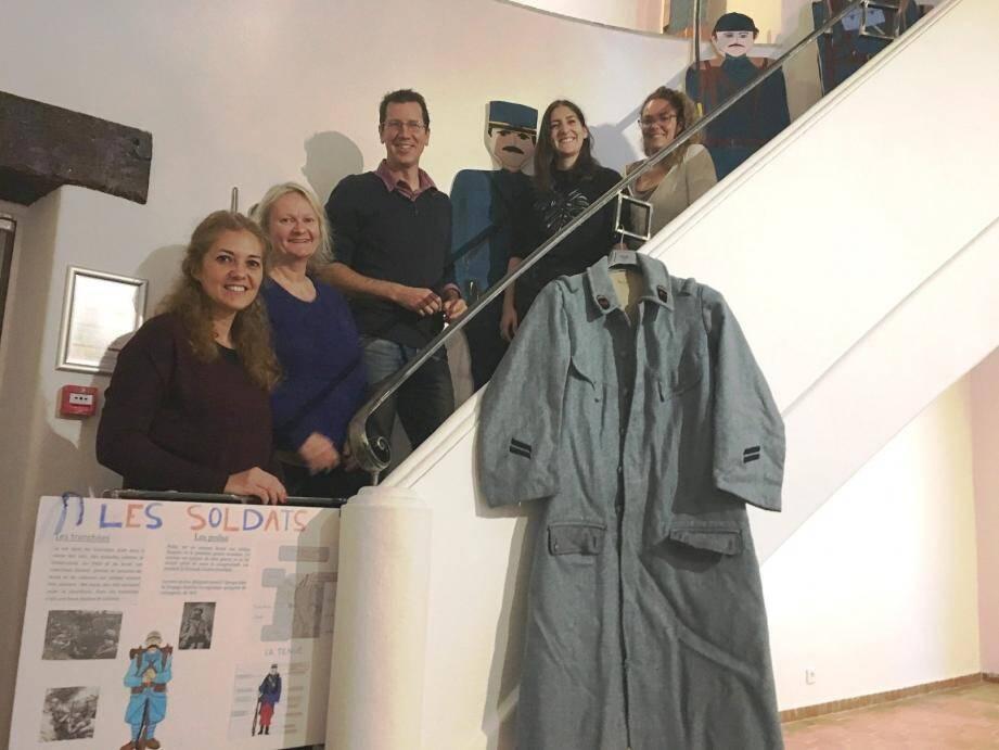 Éric Vieux et toute son équipe du service culture et patrimoine ont préparé l'exposition.