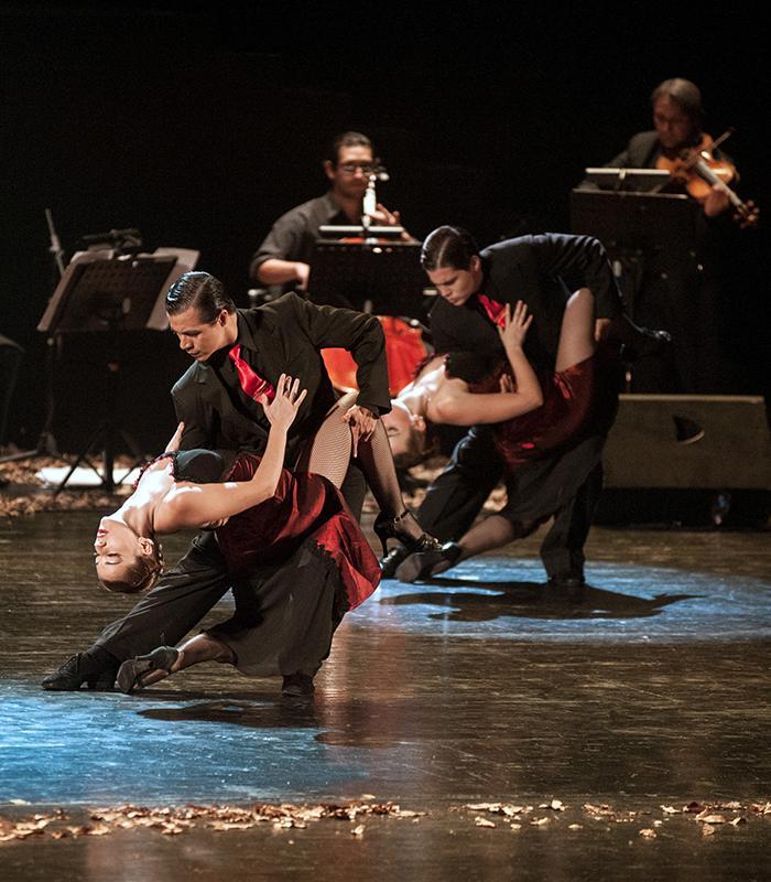Le tango authentique dans tous ses états, sur la scène du palais de l'Europe.(DR)