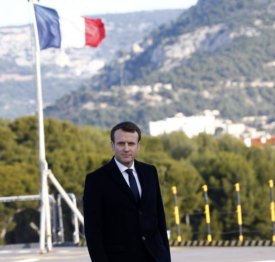 En janvier dernier, le président de la République avait adressé ses vœux aux armées depuis la base navale de Toulon.