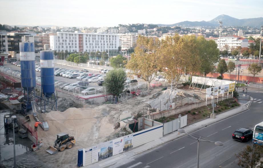 Le multiplexe à l'est de Nice doit être exploité par Mégarama, exploitant de cinéma en France, en Espagne ou au Maroc.