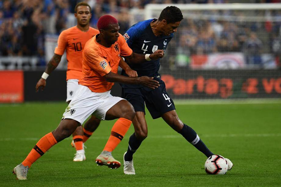 Patron de la défense, Varane retrouvera les Pays-Bas vendredi.
