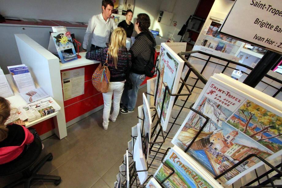L'office du tourisme, partie émergée de la SEM qui gère la promotion de la ville et dont la subvention de 860 000 euros vient d'être renouvelée.