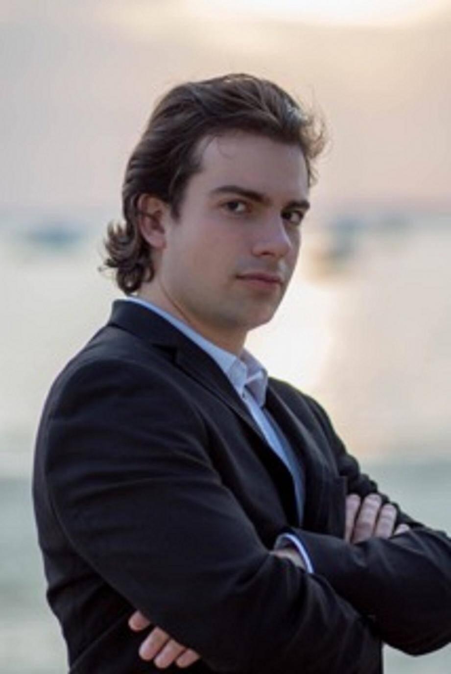 Le pianiste André Reignier. (DR)
