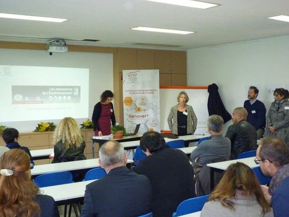 Les responsables de la Chambre de commerce et d'artisanat du Var ont présenté aux entrepreneurs plusieurs solutions pour tendre vers une transition énergétique et une croissance verte.
