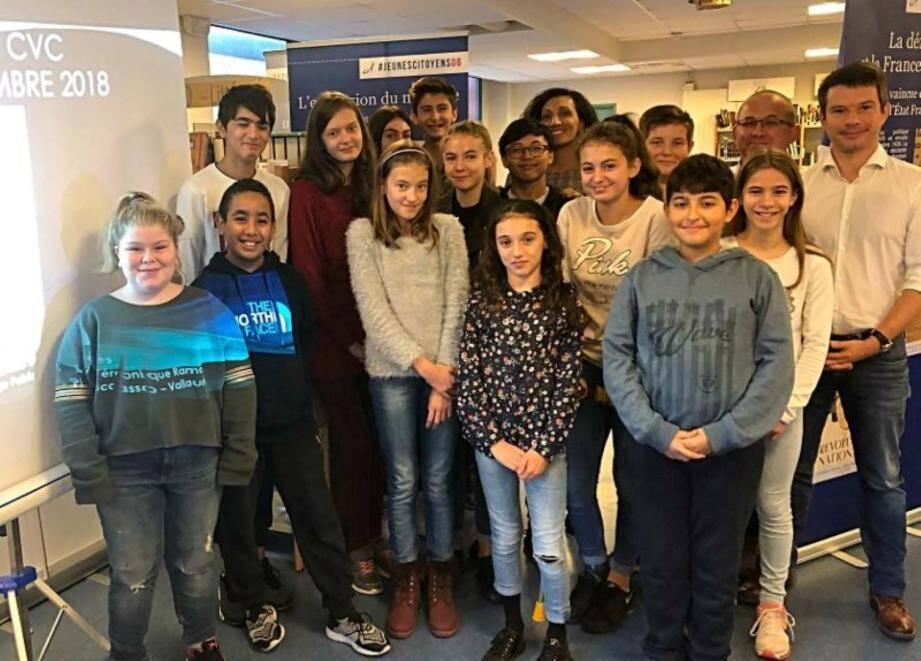 Les jeunes membres du Conseil ont participé à une journée de formation.
