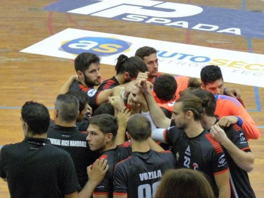 Les Niçois du Cavigal lors d'un précédent match.